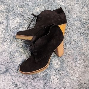 {J.Crew} Leather Macalister High Heel Ankle Boot